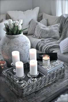 I like the romantic feel , not necessarily all the grey though.