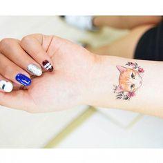 : Cat with flowers . . . #tattooistbanul #tattoo #tattooing #drawing #cat #cattattoo #design #tattoomagazine  #tattooartist #tattoostagram #tattooart #inkstinctsubmission #tattooinkspiration #타투이스트바늘 #타투 #고양이 #고양이타투 #그림