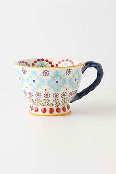 Jolie tasse a thé anthropologie
