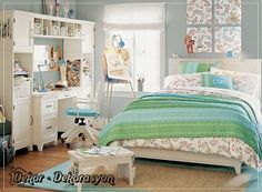 Teenage Bedroom Designs For Girls, Modern Decoration Patterns And Room  Colors