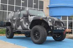 Jeep Wrangler JK // Urban Camo #2