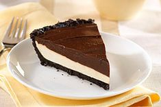 An Oreo Cookie crust is a delectable foundation for a heavenly layer of caramel blended with smooth cream cheese that's topped with chocolate pudding. 5 stars says it all!