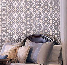 decorating stencils for walls free | stencils-stencil-for-walls