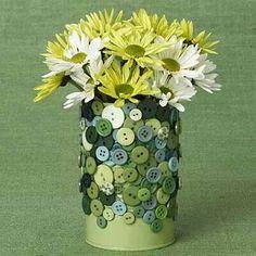 Flower Holder ~ Simple & lovely.