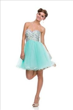 A Line Strapless Sweetheart Neckline Homecoming Party Holiday Cocktail Short Prom Dress With Ruffle Beading