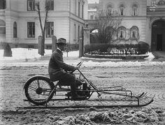 Maybe this is one of Don's snow bikes from the past.