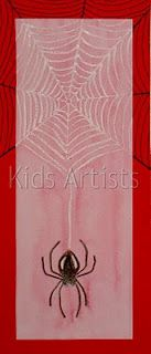 Kids Artists: grade 2  spider and his web
