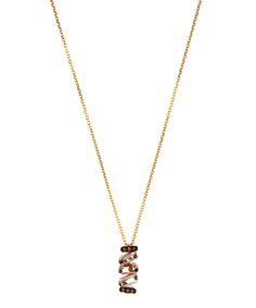 Fine Jewelry Political Logo Pendant Necklace ymLxEr5m