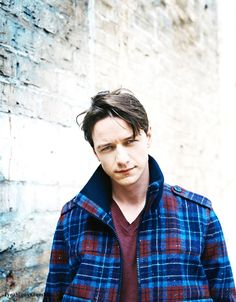James McAvoy. I am crushing on this Brit.