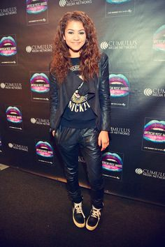 Zendaya Coleman attends 2013 American Music Awards Radio Room