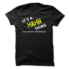 nice It is a HAHN Thing Tee