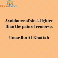 Avoid sin. It is better.