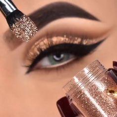 Matte Eye Makeup, Smoky Eye Makeup, Eye Makeup Steps, Makeup Eye Looks, Eye Makeup Art, Makeup Tutorial Eyeliner, Makeup Looks Tutorial, Cut Crease Makeup, No Eyeliner Makeup