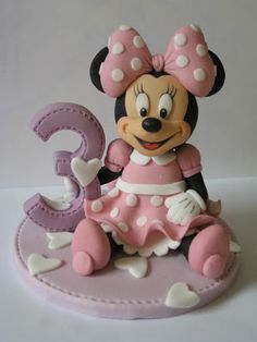 how to make baby minnie mouse out of fondant - Αναζήτηση Google
