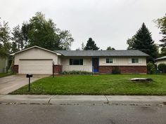 This hail damaged roof in Fort Collins was re-roofed with Timberline HD shingles in the color Pewter Gray.