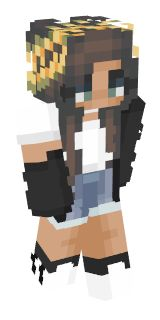 trendy minecraft girl skins – Bing images - Minecraft World Minecraft Poster, Capas Minecraft, Cool Minecraft Houses, Hama Beads Minecraft, Minecraft Pixel Art, Creeper Minecraft, Minecraft Buildings, Minecraft Wallpaper, Minecraft Creations