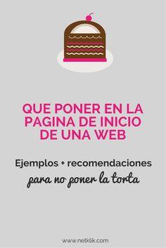 Qu poner en la pgina de inicio de una web: ejemplos, recomendaciones  y errores que debes de evitar (para no poner la torta)