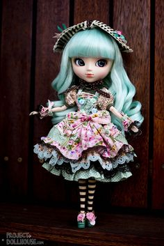 Alice Du Jardin Mint Pullip, photo by Project Dollhouse