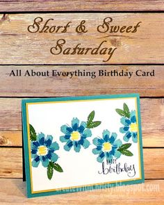 Stampin' Up! All About Everything - Free Stamp Set in April Paper Pumpkin Kit - Create With Christy: Short & Sweet Saturday - Get a New 2016-2017 Annual Catalog Free, Too!