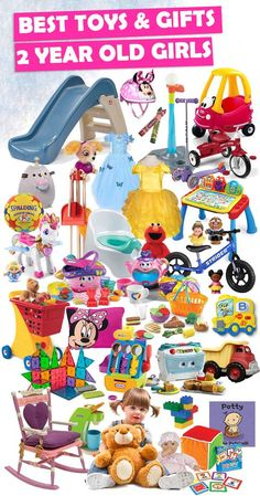 Tons of great gift ideas for 2 year old girls.