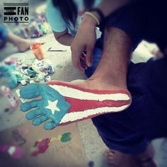 Puerto Rico going without shoes o others don't have to. Take the Barefoot Challenge! www.onedaywithout...