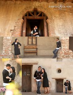 San Juan Capistrano Mission engagement photos, photographer, old spanish mission, Engagement Photography, Gilmore Studios, Kiss, Love, Engagement, Couple