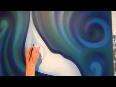 Donna Corbani - From Canvas to Wall Abstract, Canvas, Wall, Artwork, Youtube, Painting, Pastel Colors, Summary, Tela