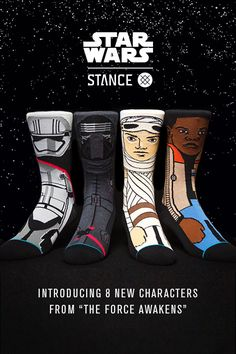 Stance has embraced its inner Jedi to deliver socks that any true Star Wars fan will appreciate.