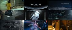 Moon - Duncan Jones's first film. Love the minimalism and story development. It was also a low budget for Hollywood standards but the visuals on the film are quite remarkable. Frankfurt, Movie Intro, Art Of The Title, Title Sequence, Title Card, Moon Art, Filmmaking, Stock Footage, Documentaries