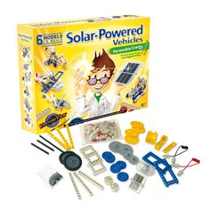 SOLAR-POWERED VEHICLES KIT | Renewable Energy, Sun Power, Generate Electricity From Light, Toys For Children, Educational Toys | UncommonGoods