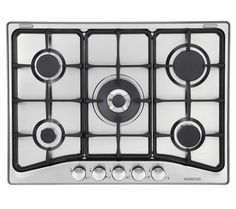Buy KENWOOD KHG701 Gas Hob - Stainless Steel | Free Delivery | Currys