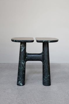"""Isamu Noguchi, Hanna Eshel, Barbara Hepworth: some of our favourite Modernist sculptors came to mind when we first saw Guillaume Delvigne's new stools"" - LOST IN DESIGN - (Stool from Guillaume Delvigne) Table Furniture, Modern Furniture, Furniture Design, Brutalist Furniture, Unusual Furniture, Plywood Furniture, Chair Design, Painted Furniture, Architecture Restaurant"
