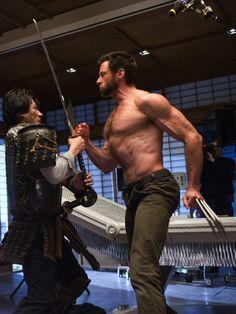 "A chest like a mountain - Hugh Jackman as ""Wolverine"""