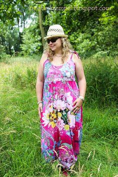 krötenkrempel: Juhuuu, Sommer! Maxikleid von Lillesol Woman - Pro...