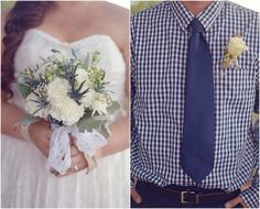 Country Wedding Bride and Groom