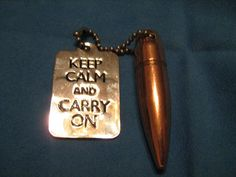Keep Calm and Carry On 50 caliber Dragon's by BulletsAntlersEtc, $20.00