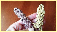 Straw Weaving, Weaving Art, Basket Weaving, Newspaper Basket, Newspaper Crafts, Paper Clay, Paper Art, Corn Husk Crafts, Corn Dolly