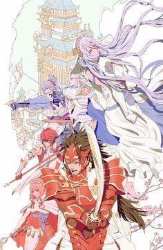 Fight Me ( ง͡° ͜ʖ ͡°)ง Azura, Corrin, Ryoma, Hinoka, Takumi, Sakura
