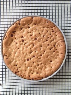Galleta chocolate chip gigante | Cocina de Franchesca