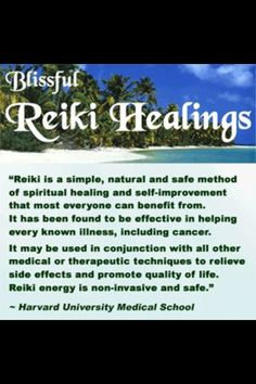 Reiki - Harvard Medical School