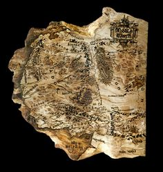 Lord of The Rings Middle Earth map wood burnt on by WoodBurntMaps