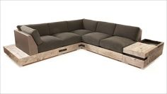 Check out the deal on Ceniza Sectional Sofa at Eco First Art