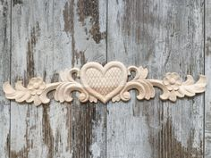 wooden appliques for furniture. Wood Applique Heart By StarWoodDesign On Etsy Wooden Appliques For Furniture