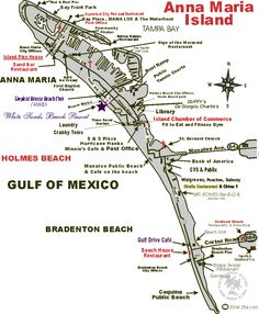Holmes Beach Florida Map.Map Of Anna Maria Island Zoom In And Out Anna Maria Island