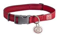 OllyDog MTN Reflective Collar, Large, Chili *** Check out this great product. (This is an affiliate link) #PetCats