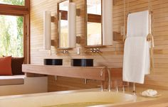Bathroom. © Six Senses. Travel+Style