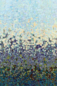 Christian Art | Deuteronomy 6:5. You Shall Love | Modern Abstract Art: Mark Lawrence