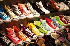 Love colourful converse