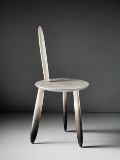 """""""Treated"""" by Aldo Bakker. 2010-2011. Material: Stone beech, legs."""