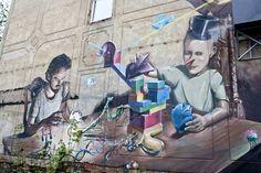 Graffiti am Felsenkeller, Leipzig